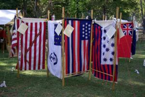 Flag Day at  Walnut Grove Plantation